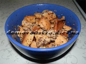 Рецепт коржики с маком на кефире