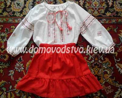 Вышиванка юбка для девочки