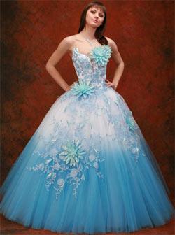 Выбор цвета свадебного платья