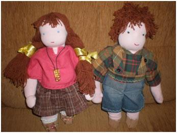 Мастер - класс: Как сделать куклу своими руками