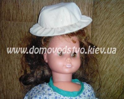 шляпа для куклы своими руками