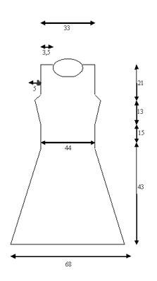 вязаное платье спицами. Комментарии