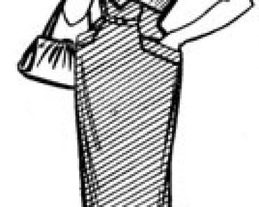 Упрощенный метод кройки лифов с цельнокроенными рукавами и рукавами реглан на основе строгого лифа