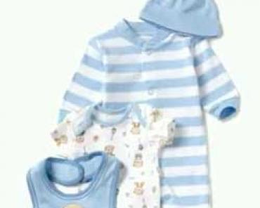 Первая одежда новорожденн...