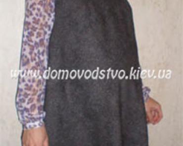 Сарафан для беременных, выкройка и пошив