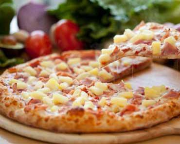 Гавайская пицца на украин...