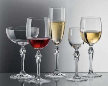 Бокалы для вина...